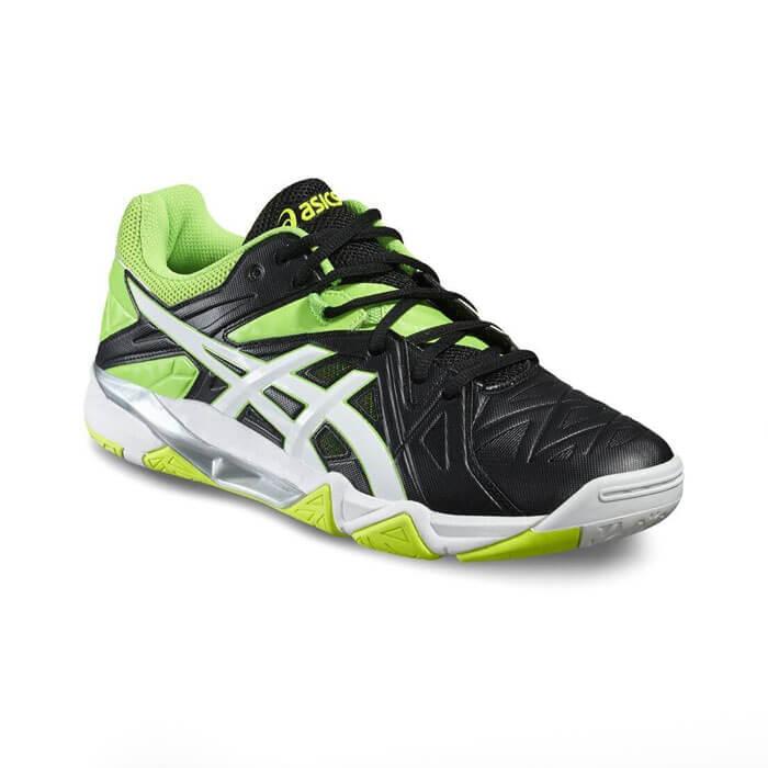 کفش اسکواش اسیکس سبز مدل Gel Sensei 6
