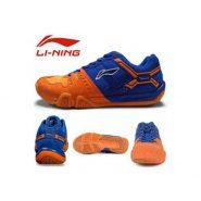 کفش اسکواش لینینگ نارنجی مدل Saga Lite