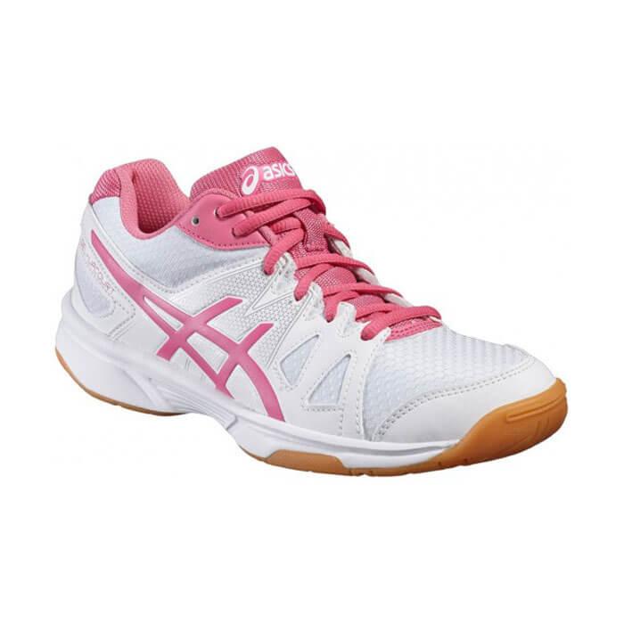 کفش اسکواش اسیکس صورتی مدل Gel Upcourt Gs