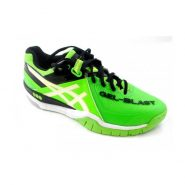 Mens Asics Gel Blast 6 Neon Green Indoor Court