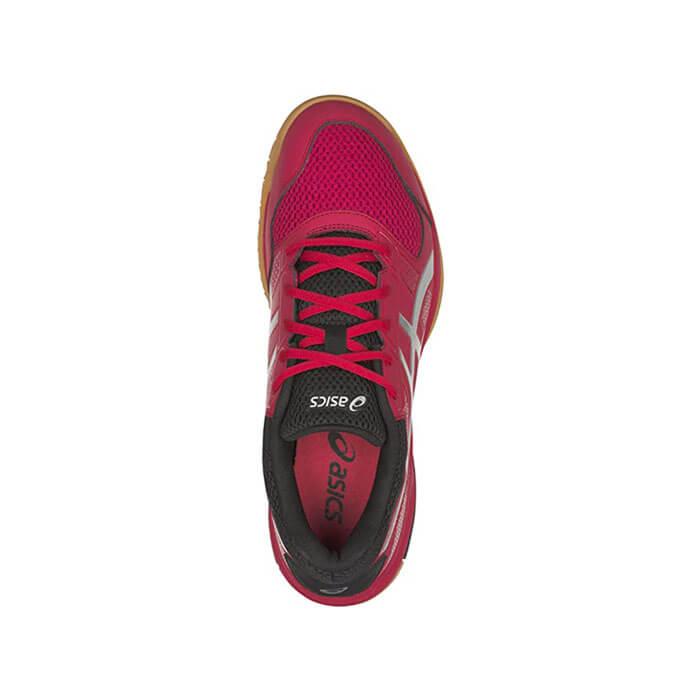 کفش اسکواش اسیکس قرمز مدل Gel Rocket 8