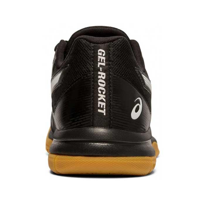 کفش اسکواش اسیکس مشکی مدل Gel Rocket 9-کورتشاپ