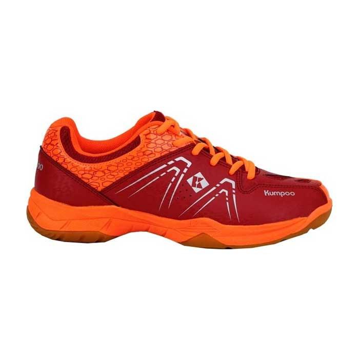 کفش اسکواش و بدمینتون کامپو قرمز مدل KH-16