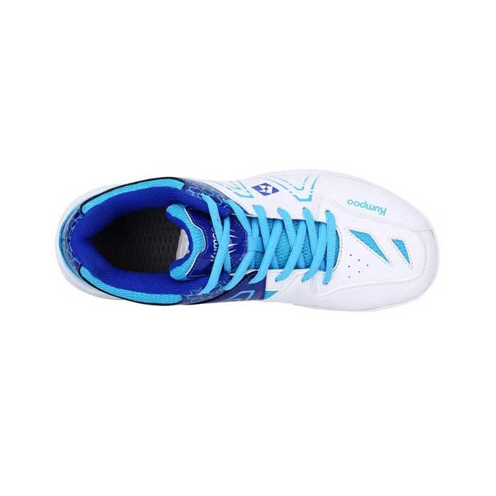 کفش اسکواش و بدمینتون کامپو سفید مدل KH-16