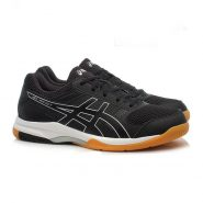 Essex black squash shoes Gel Rocket 8