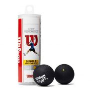 Wilson Single Yellow Dot Squash Balls