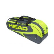 Head Elite Combi 6 Racket Bag – GreyYellow