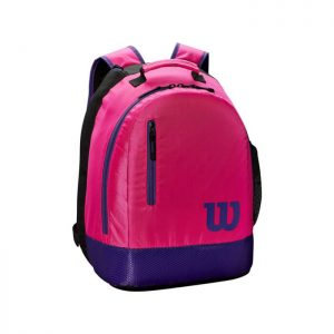 wilson unisex child sport tennis pink bag