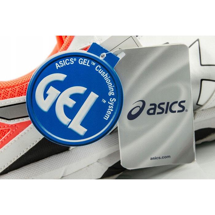 کفش اسکواش اسیکس نارنجی مدل Gel-Tactic