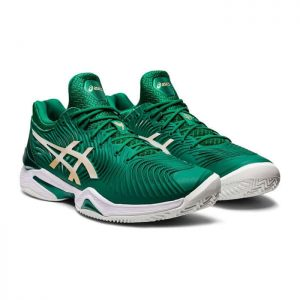 ASICS COURT FF NOVAK GREEN- Padel-TENNIS SHOES