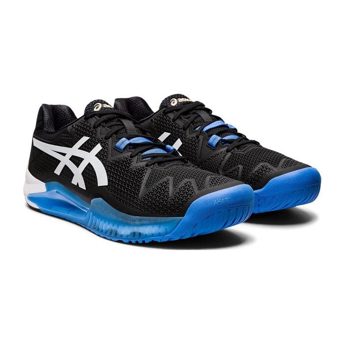 کفش پدل و تنیس اسیکس مشکی مدل GEL RESOLUTION 8