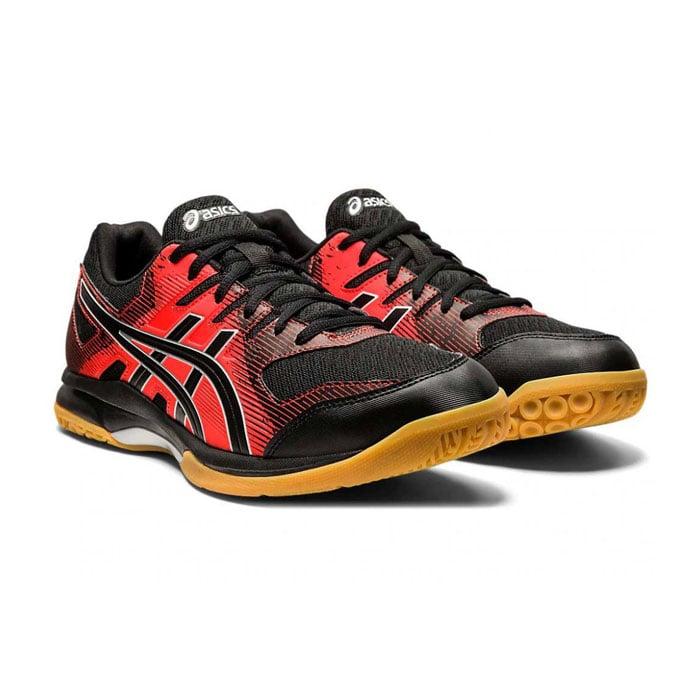 کفش سالنی اسکواش اسیکس قرمز مدل GEL ROCKET 9