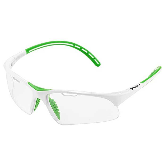 عینک اسکواش تکنی فایبر سفید/سبز Absolute
