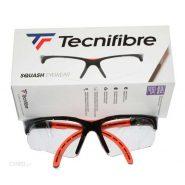 عینک اسکواش تکنی فایبر مشکی / نارنجی مدل Absolute Squash